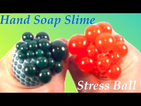 Diy stress ball with hand soap slime how to make slime without glue diy stress ball with hand soap slime how to make slime without glue borax or liquid ccuart Images