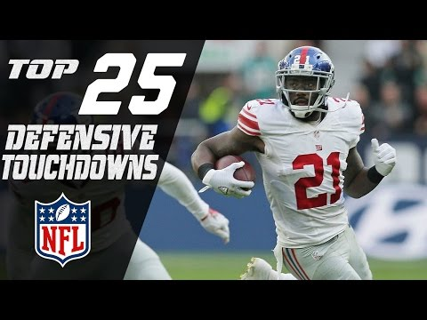Top 25 Defensive Touchdowns of the 2016 Season | NFL Highlights (видео)