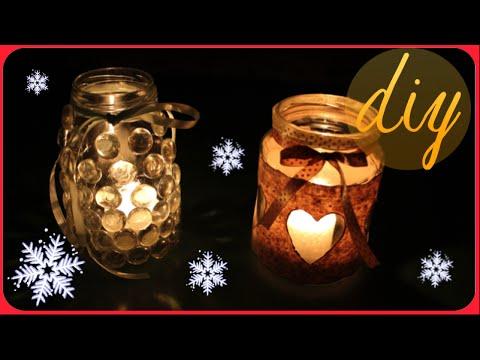 Készítsd el te is ez a 2 gyönyörű karácsonyi dekoráció egyikét befőttes üvegből, vagy add ajándékba!