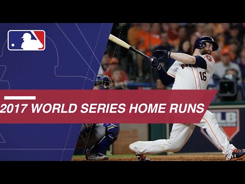 Watch the home runs from the 2017 World Series