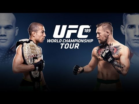 UFC 189: World Tour Press Conference – Dublin