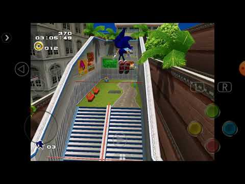 """Sonic Adverture 2 """"Sonic lo persige el ejercito"""""""