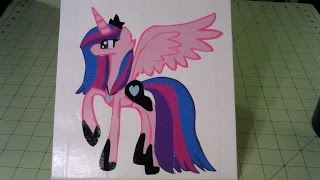 Lovely Dreams (My Little Pony OC) Time Lapse!