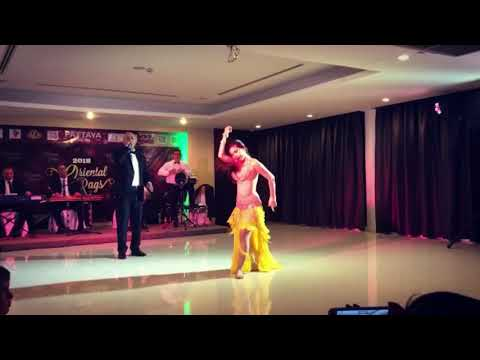 Phi Yen! 2018!( improvisation with Egypt live band) Raqs Oriental Pattaya