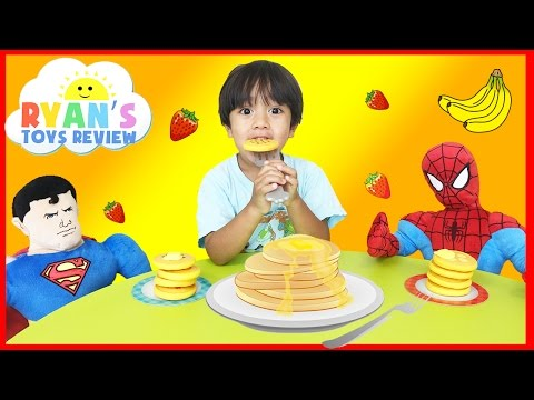 Family Fun Game Pancake Pile Up With Egg Surprise Toys