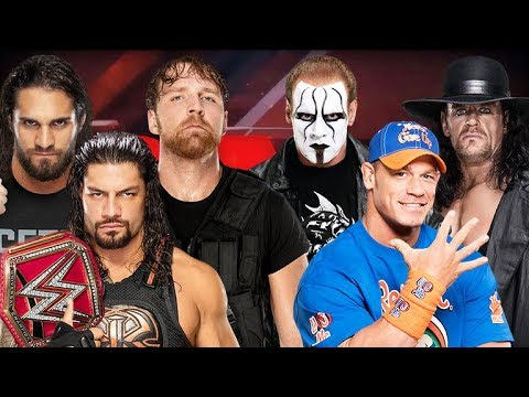 WWE RAW 2018 | The Shield Vs The Undertaker, Sting And John Cena