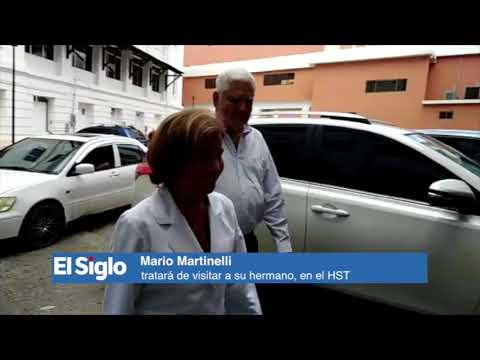Mario Martinelli tratará de visitar a su hermano, en el HST.