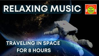 Ambient Space Music - Soothing Relaxation Music - Dark space ambient - Drone music - 8 Hours