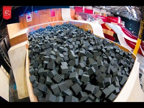 Rampworx Skatepark: Foam Pit Ramp, Biggest in UK