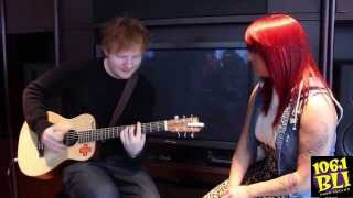 Lucky Listener Sings with Ed Sheeran!!