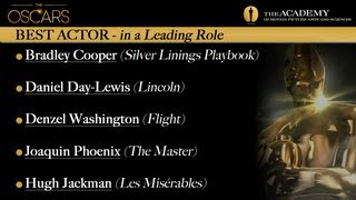 Academy Awards 2013 Oscar Winners - Best Actor