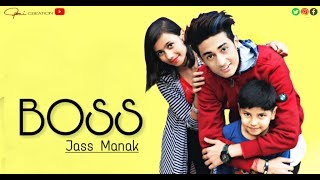 Boss : Jass Manak | Latest Punjabi Songs | GK.DIGITAL | Geet MP3 | ROHIT SINGH | Roni Creations