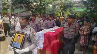 Video Upacara Kedinasan Briptu Imam sebelum Dikebumikan di Klaten MP3, 3GP, MP4, WEBM, AVI, FLV Mei 2017