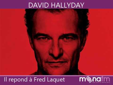 David Hallyday parle sur Mona FM