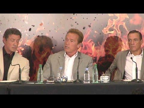 Expendables 2 Press Conference (Paris)