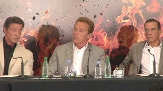 Nonton Expendables 2 Press Conference  Paris  Film Subtitle Indonesia Streaming Movie Download