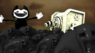 Minecraft   Bendy and The Ink Machine - BENDY