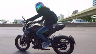 9. HONDA CB300R (Video by free world)