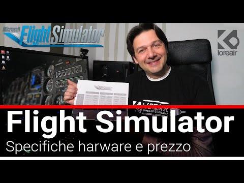 Flight Simulator 2020: Specifiche hardware per farlo girare e prezzo (secondo me)