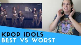 Video Voice Teacher Reacts to Kpop Idols WORST vs. BEST Live Vocals MP3, 3GP, MP4, WEBM, AVI, FLV Januari 2019
