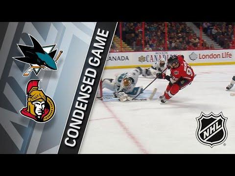 01/05/18 Condensed Game: Sharks @ Senators