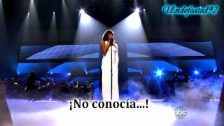 Whitney Houston - I Didn't Know My Own Strength 2009 [Subtitulada al Español]