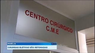 Marília: Voltam a ser realizadas cirurgias eletivas.