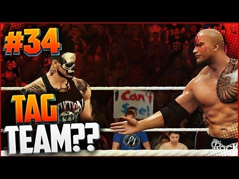 WWE 2K17 ПРОХОЖДЕНИЕ КАРЬЕРЫ #34 - TAG TEAM???