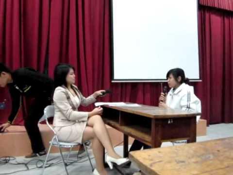 Buổi phỏng vấn thử tại Học Viện Tài Chính