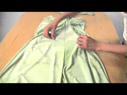 Как сшить платье за 2 минуты