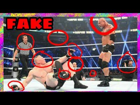 WWE IS FAKE     REAL PROOF (2018)    WWE TOP 10
