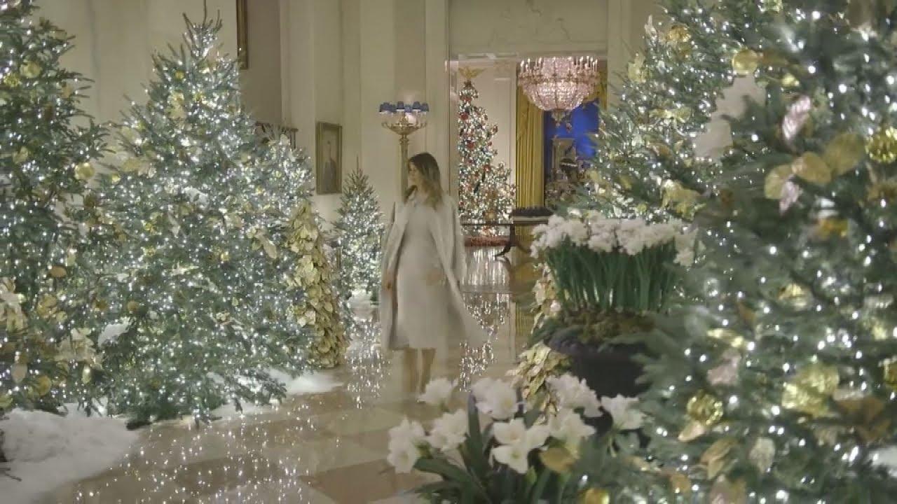 H χριστουγεννιάτικη διακόσμηση του Λευκού Οίκου
