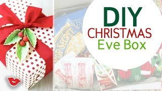 DIY Christmas Eve Box | Gift Ideas | Tay from Millennial Moms