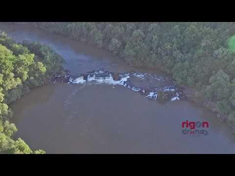 DRONE - Cachoeira - Rio Ijuizinho - Entre Ijuis/RS - 02/04/17