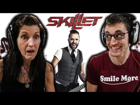 Christian Mom's FIRST TIME Hearing SKILLET -