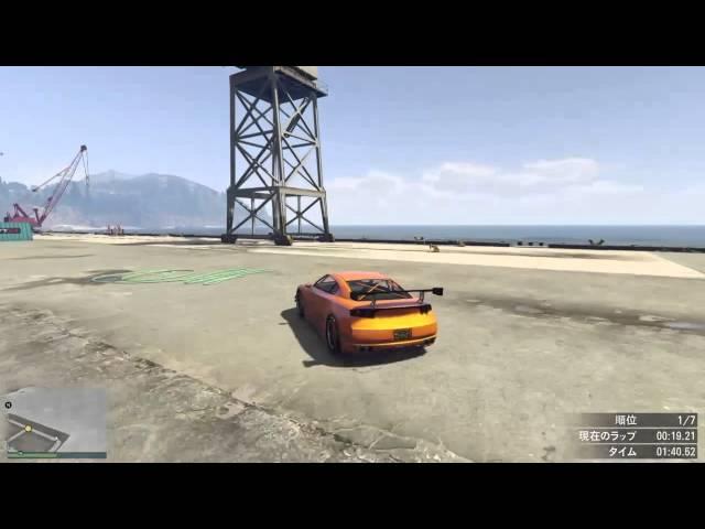 【GTA5】Dockyard   1:15.608