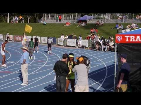 Okeyo - June 2014 California Interscholastic Federation (C.I.F.) State Track & Field Championships, Fresno/Clovis CA Long Beach Poly senior Ariana Washington has est...