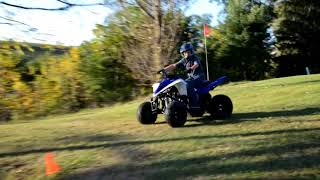 4. 2017 YAMAHA Raptor 90 , First Run