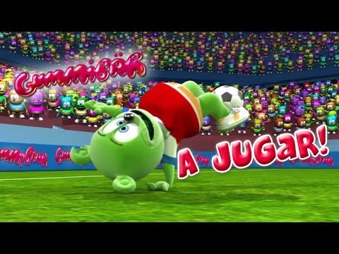 Gummibär A Jugar! World Cup Soccer/Football Song Chilean Spanish Gummy Bear Osito Gominola