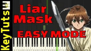 Video Learn to Play Liar Mask from Akame ga Kill! - Easy Mode MP3, 3GP, MP4, WEBM, AVI, FLV Juni 2018