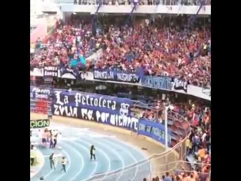 Celebración del Zulia FC con la hinchada después de terminada la final - La Petrolera - Zulia