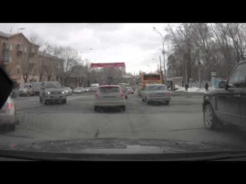 Водитель Волги догнал автомобиль