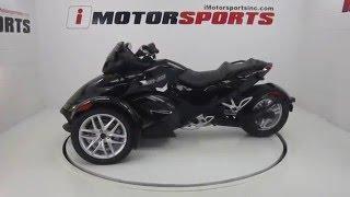 1. 2015 CAN AM SPYDER RS SM5 @ iMotorsports A1582