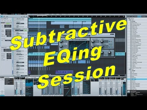 Subtractive EQ Mixing Session – Cleaning Up Your Mix