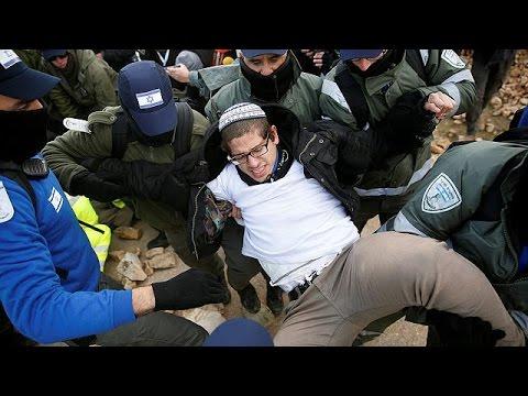 Επεισοδιακή εκκένωση εβραϊκού οικισμού εποίκων στη Δυτική Όχθη