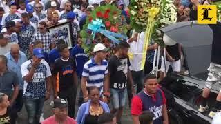 Sepultan restos del pelotero Braulio Lara con Bachata y Dembow, tras recorrido en Ocoa