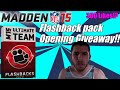 Madden 15 Ultimate Team | Flashback Pack Opening Double Giveaway W/ Facecam | Flashback Friday Ep. 2