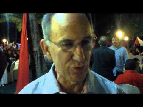 Rui Falcão apoia ANA TERESA 13 em JAGUARUANA - CE