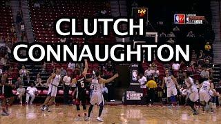 Connaughton Unfazed by Sudden Death 2OT!!! by NBA