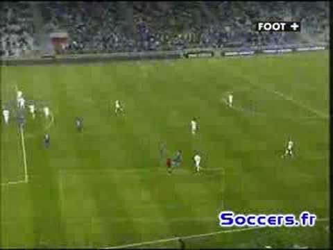 Gol de M'Bami a los Troyes